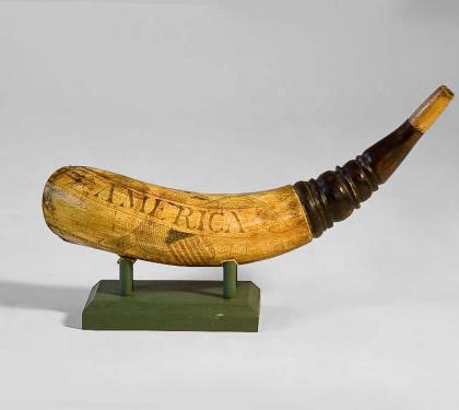 Engraved Powder Horn Hlchalfant Com