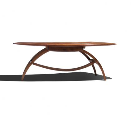 Exceptional and Unique Applewood Coffee Table by Wharton Esherick (SOLD)