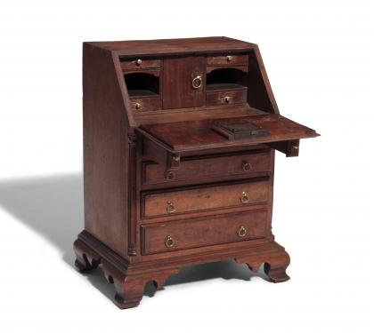 A Very Rare & Important Miniature Desk