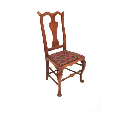 Swell Maple Queen Anne Side Chair Hlchalfant Com Gamerscity Chair Design For Home Gamerscityorg