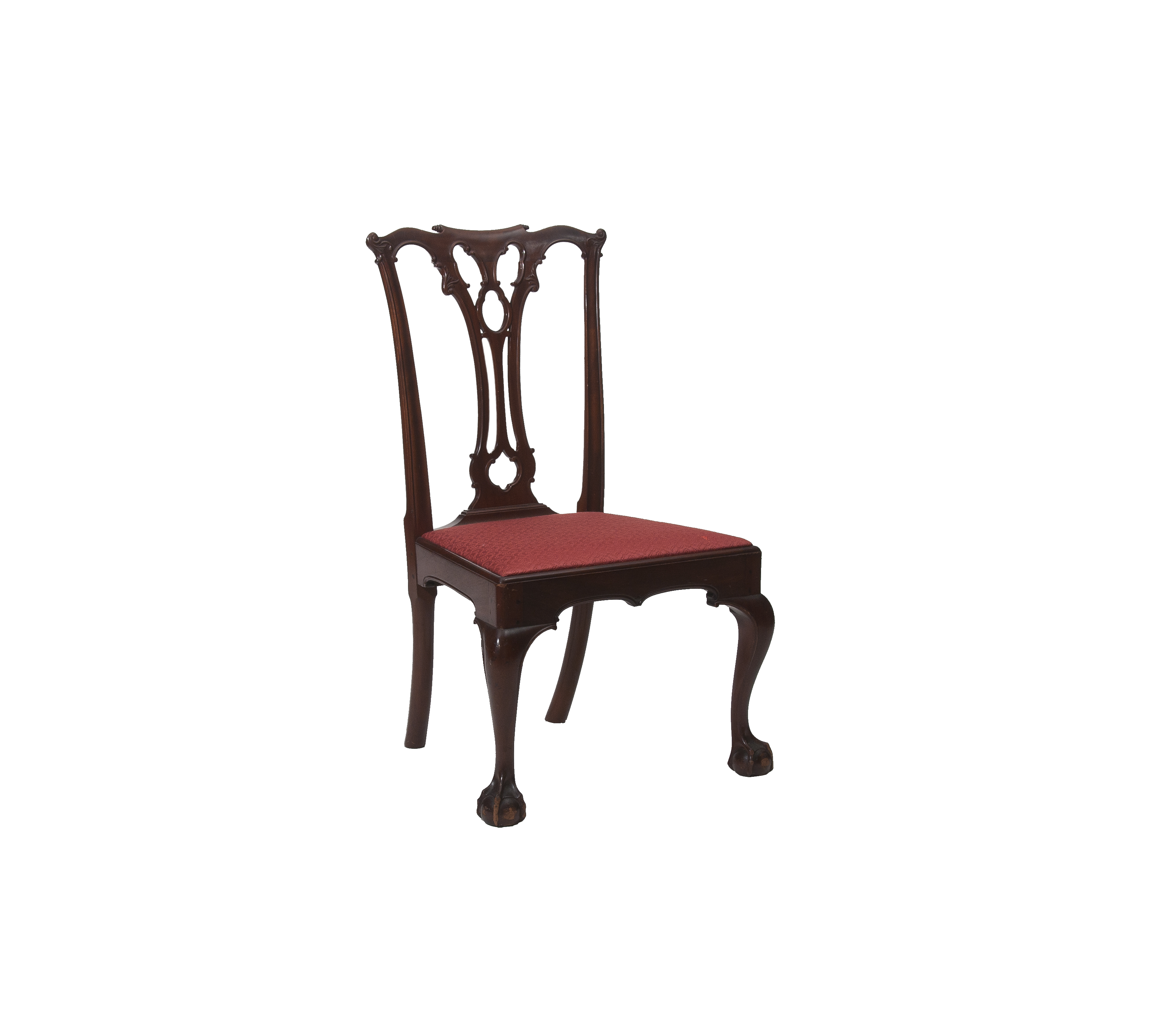 chippendale side chair. Mahogany Chippendale Side Chair. Enlarge Image Chair I
